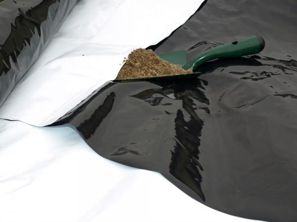 Spargelfolie zum Abdecken von Spargel
